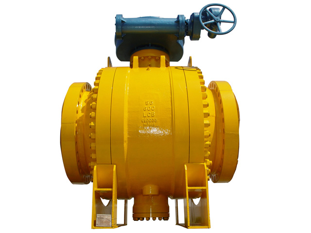 Side Entry Trunnion Ball Valve
